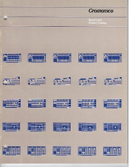 CROMEMCO BOARD LEVEL PRODUCT CATALOGUE 1983 52 Pages - Perfect Condition
