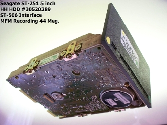 Vintage Seagate ST-251 HDD For Sale $250.00 #30520289 #5 HH 48 Meg MFM ST-412/ST-506 Assembled in Thailand. 5 Errors Boots Cromix. 60 Day Return Policy. See Terms & Conditions.